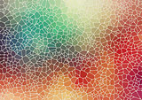 Colorful abstract 2D geometric background