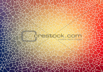 Abstract background with voronoi geometric shapes