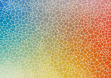Abstract colorful flat geometric background