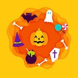 Halloween Paper Cut