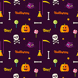 Halloween Print Seamless Pattern