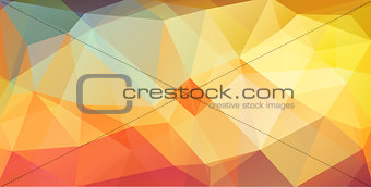bright color cover background with triangle shapes