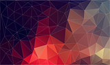 Flat plygonal abstract background