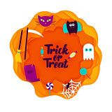 Trick or Treat Paper Cut