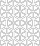 Seamless hexagons and triangles pattern.