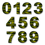 Numbers Military Camouflage