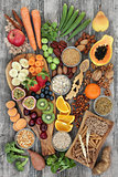 Health Food for a High Fiber Diet