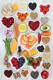 Healthy Heart Food and Medicinal Herbs