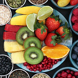 Super Food High in Antioxidants and Anthocyanins