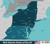 Mid Atlantic States of the United States