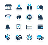 E-Shopping Icons // Azure Series