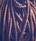 Vintage rope background