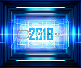 blue lines background for 2018