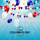 Columbus Day Background. Vector Illustration