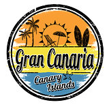 Gran Canaria sign or stamp