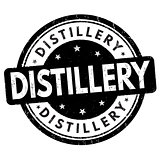 Distillery sign or stamp