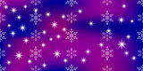 Vivid vector background with snowflakes