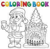Coloring book Santa Claus thematics 2