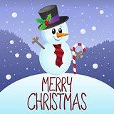 Merry Christmas thematics image 3