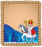 Parchment with Sinterklaas theme 5