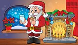 Santa Claus breakfast theme 2