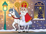 Sinterklaas on horse theme image 7