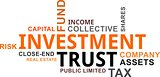 word cloud - investment trust