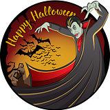 Vector Halloween concept