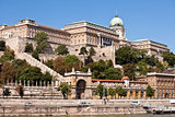 View of Buda Castle in Budapest