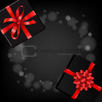 Poster With Gift Box