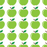 Apple green seamless pattern background