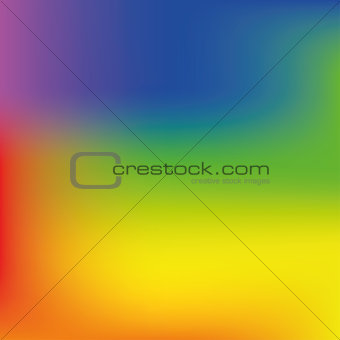 Bright rainbow mesh vector background
