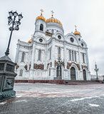 Moscow, Russia. Christ the Savior Cathedral.