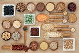 Dried Macrobiotic Diet Food