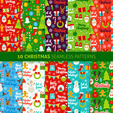 Christmas Holiday Seamless Patterns
