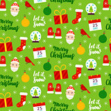 Christmas Seasonal Seamless Pattern