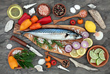 Mackerel Fish for Healthy Eating