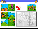 jigsaw puzzles with funny bug characters
