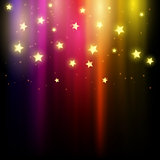 Background of stars