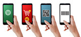 Smartphones and shopping apps