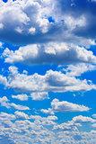Blue sky on sunny day