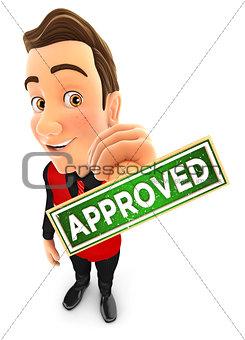 3d seller approved stamp