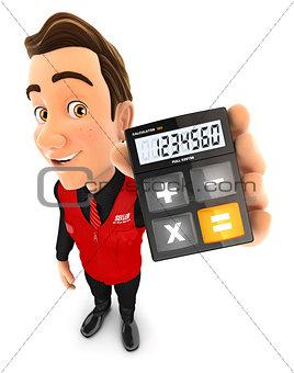 3d seller holding calculator