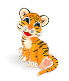 Little tiger cub
