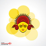 Navratri utsav greeting card