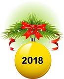 Christmas ball 2018