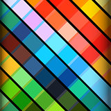 Abstract colourful striped background