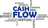 word cloud - cash flow