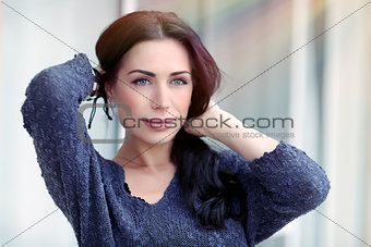 Beautiful woman portrait