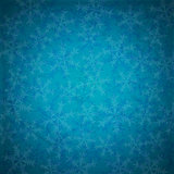 Blue vintage Christmas background